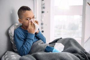 Gripe e saúde da criança