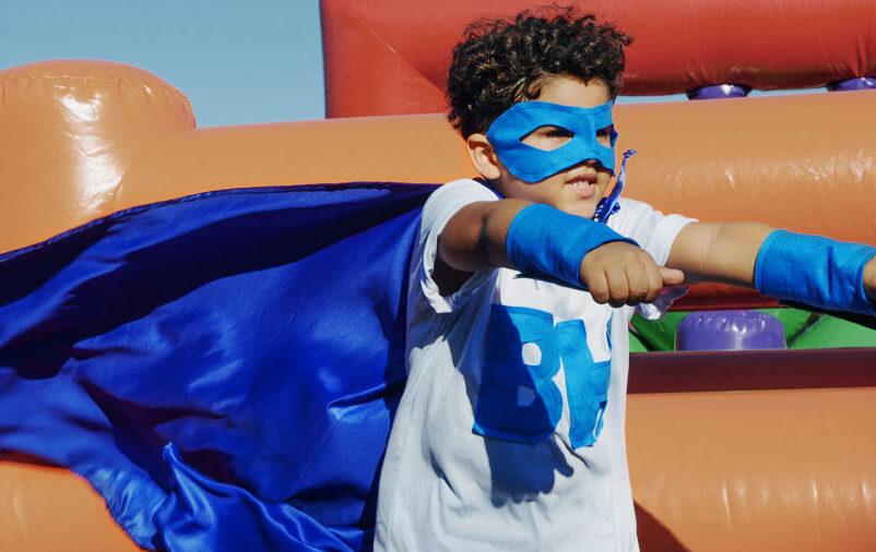 Influência dos super-heróis para crianças