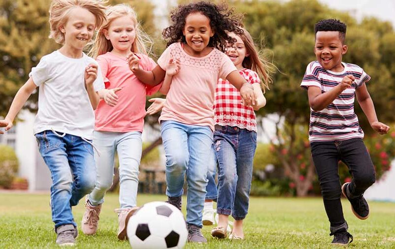 brincadeiras infantis em grupo