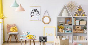 brinquedoteca em casa bem colorida